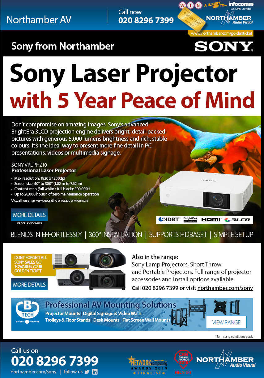 Incredible projection images with Sony VPL-PHZ10